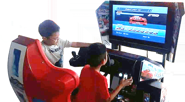 Kiddie Party Driving Outrun
